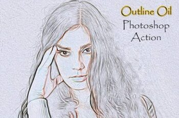 Outline Oil Photoshop Action 4910823 6