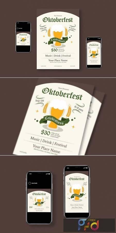Oktoberfest Flyer Pack UUA3448 1