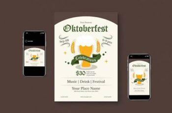 Oktoberfest Flyer Pack UUA3448 6