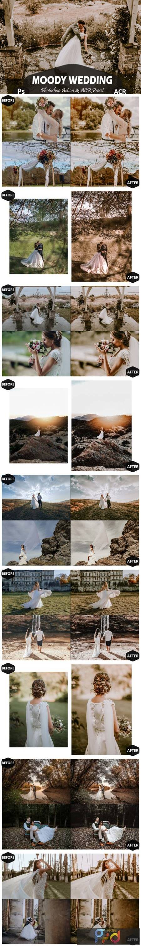 10 Moody Wedding Photoshop Actions 5919019 1