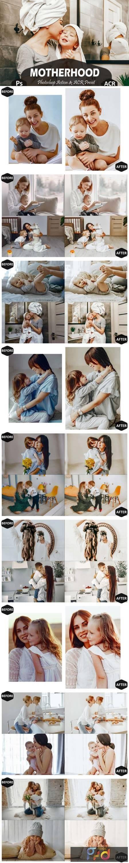 10 Motherhood Photoshop Actions 5919385 1