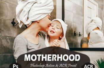 10 Motherhood Photoshop Actions 5919385 7