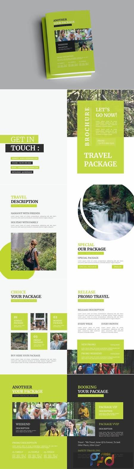 Travel Package Brochure VURDF93 1