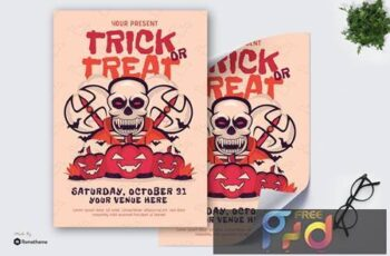 Trick or Treat Halloween - Poster GR QNMZ56K 6