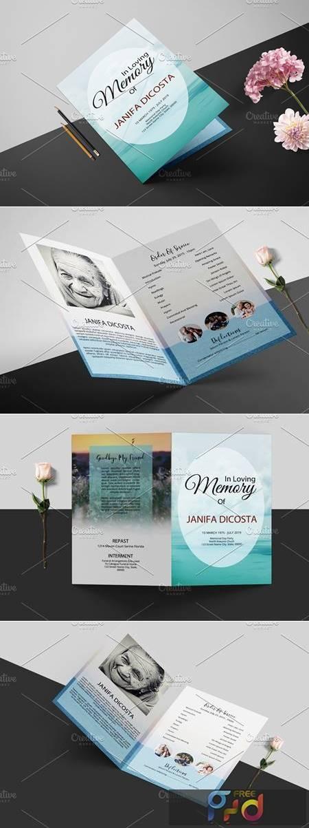 Funeral Program Template - V936 4257439 1