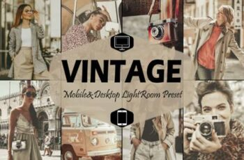 18 Vintage Mobile Lightroom Presets 5916075 10