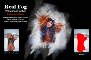 Real Fog Photoshop Action 5283103 2