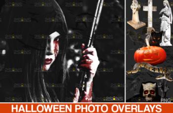 Halloween Clipart & Halloween Overlays 5542443 8