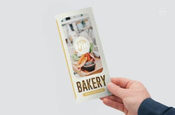 Bakery And Confectionery Food Trifold Brochure B48BEPU 4
