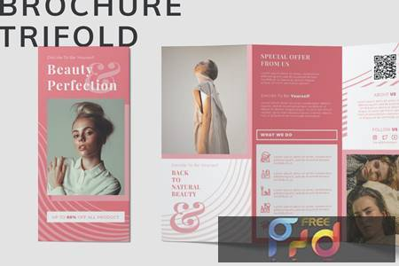 Beauty Trifold Brochure 3PCQ3FN 1