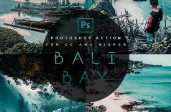 Bali Bay - Photoshop Action 28295208 5