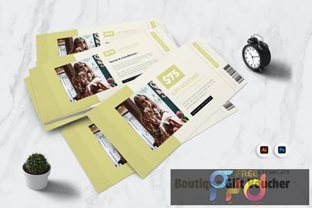 Boutique Gift Voucher 52EZJWB 1