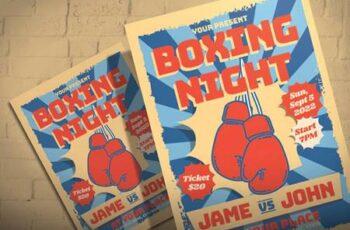 Boxing Night - Flyer Template BABBLNN 1