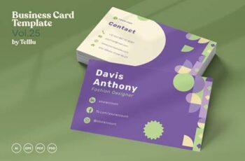 Business Card Vol.25 Landscape & Portrait C7YJ3MM 5