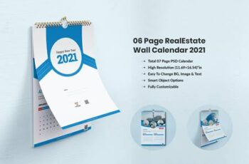 Calendar 2021 - For Real Estate Company P8RNKCY 3