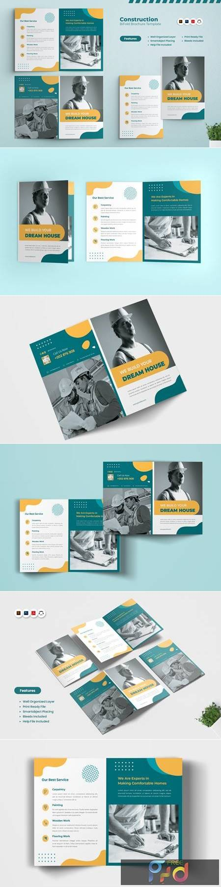 Construction Bi-Fold Brochure J7LSKBP 1