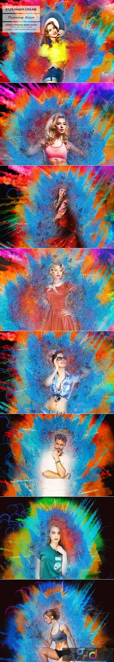 Explosion Color Photoshop Action 5247557 1