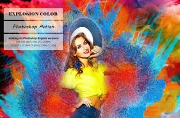 Explosion Color Photoshop Action 5247557 7