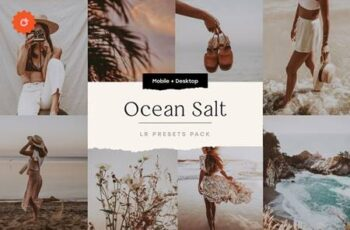 Ocean Salt – 6 Lightroom Preset Pack 5212710 1