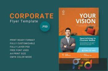 Corporate Flyer Template - 04 WA8KR45 2