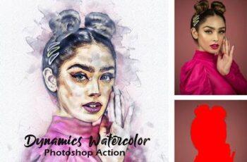 Watercolor Photoshop Action 28673766 7