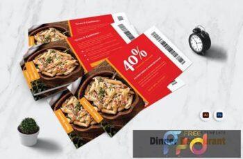 Dinner Restaurant Gift Voucher 5XYUDA5 8