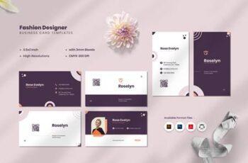Fashion Designer Business Card EFMU6HX 16