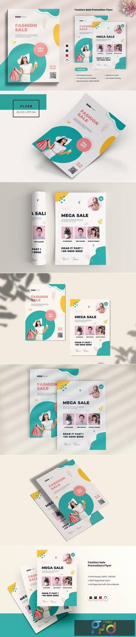 Fashion Sale Promotion Flyer XEM4MUC 1