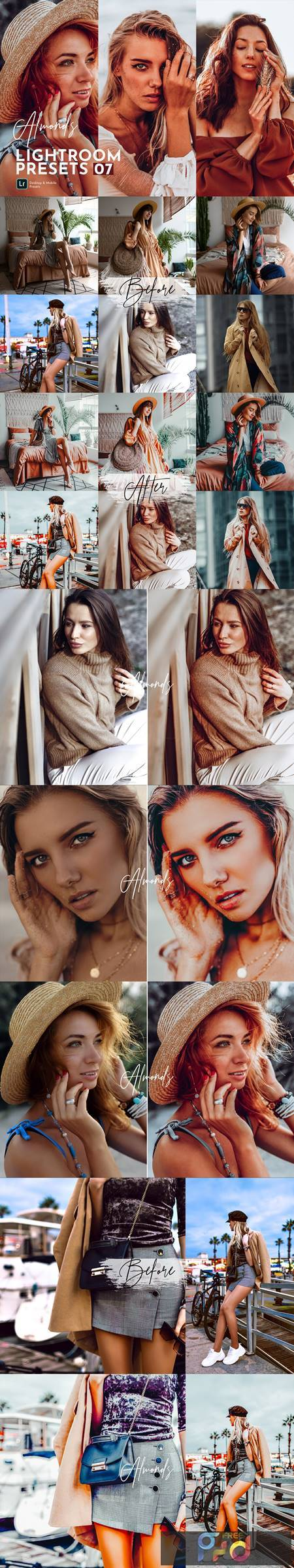 Almonds Lightroom Presets Pack 5471241 1