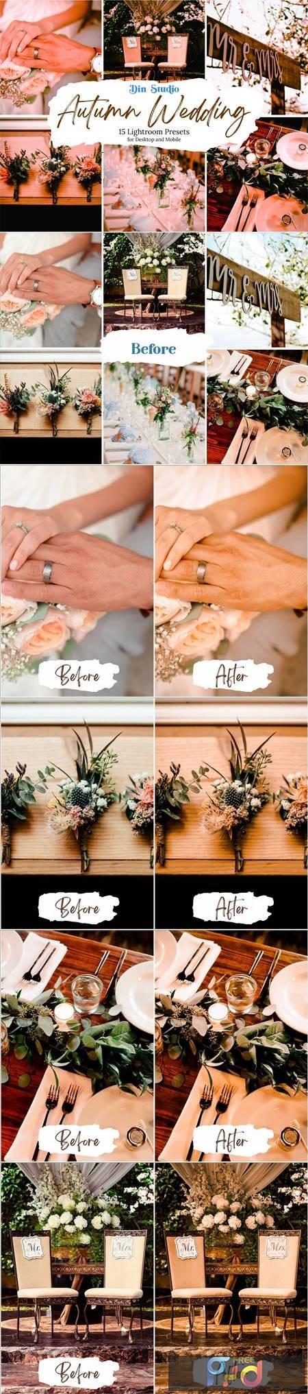 Autumn Wedding Lightroom Presets 5480303 1