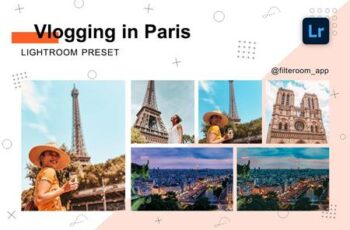 Lightroom Preset - Vlogging in Paris 5239994 7