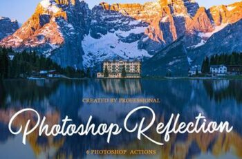 Reflection Photoshop Actions 4548061 3