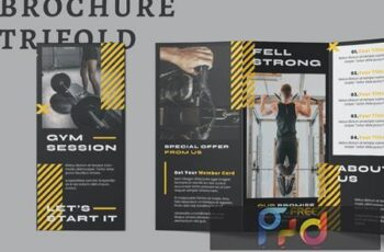Gym Trifold Brochure KGNZUPE 5