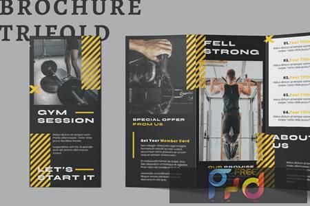 Gym Trifold Brochure KGNZUPE 1