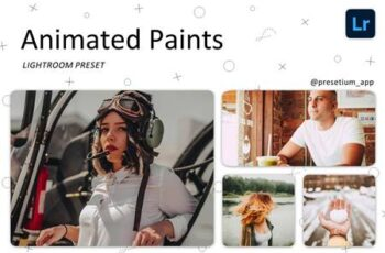 Animated Paints - Lightroom Presets 5227444 6