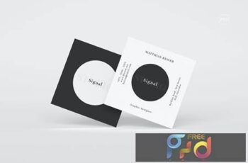 Square Business Card H292YE8 2