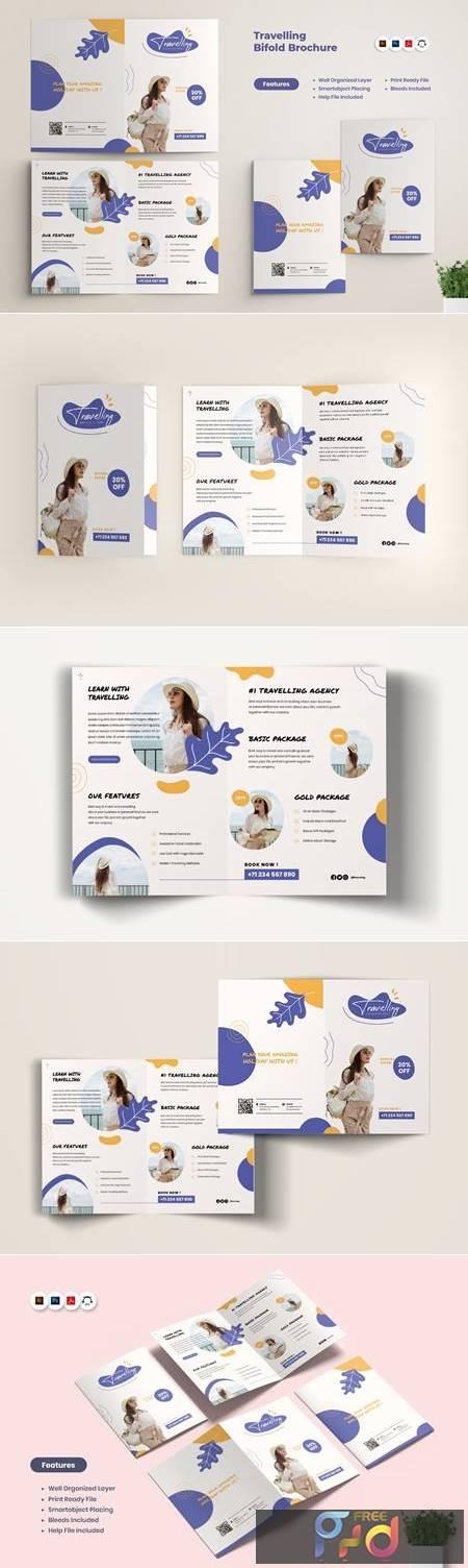 Travel Agency BiFold Brochure 2ACFAHT 1