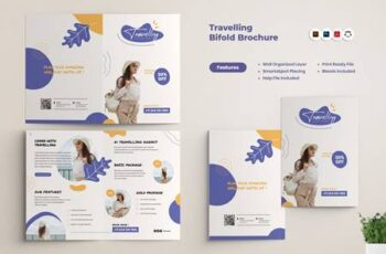 Travel Agency BiFold Brochure 2ACFAHT 1