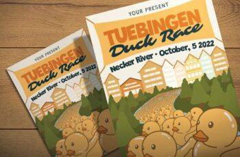 Tuebingen Duck Race - Flyer Template SULCCBF 5
