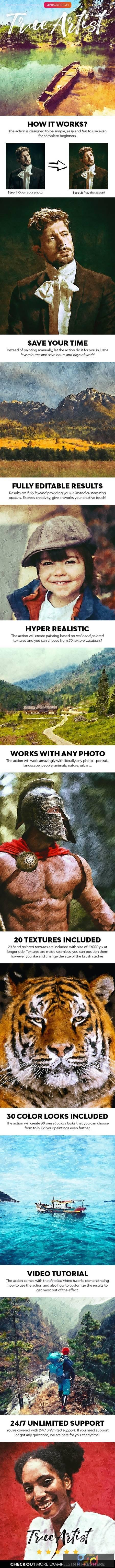 True Artist Photoshop Action 28413190 1