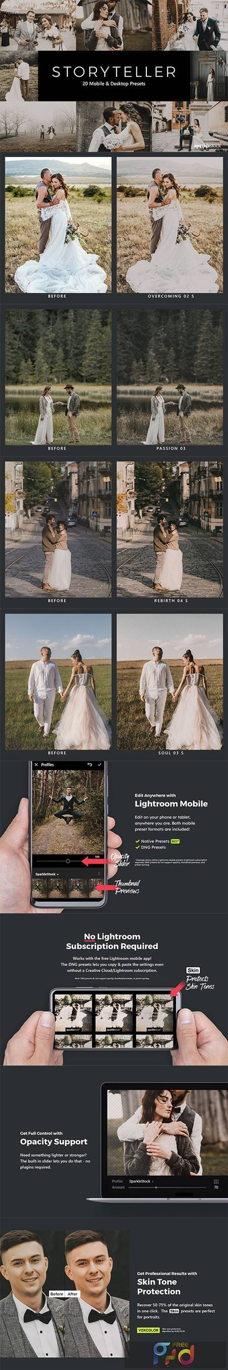20 Storyteller Lightroom Presets & LUTs 28789180 1