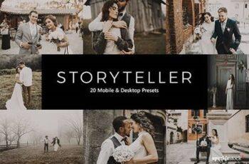 20 Storyteller Lightroom Presets & LUTs 28789180 6