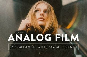 ANALOG FILM Premium Lightroom Preset 5059515 7