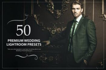50 Premium Wedding Lightroom Presets SXVD9LR 5