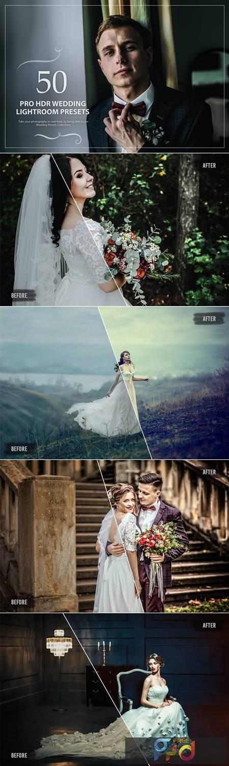 50 Pro HDR Wedding Lightroom Presets TJKCMY5 1