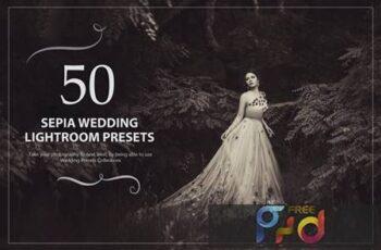 50 Sepia Wedding Lightroom Presets N9LQ5RQ 4