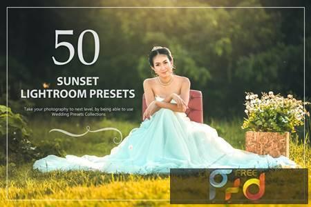 50 Sunset Lightroom Presets 9U9DE6U 1