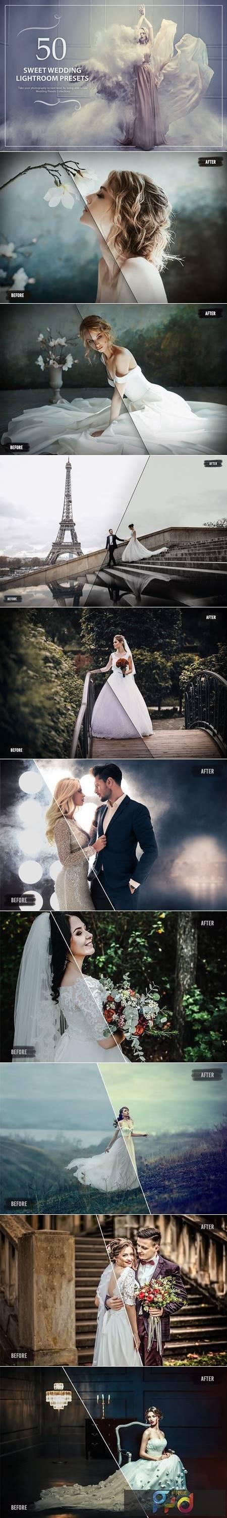 50 Sweet Wedding Lightroom Presets KC5AJMZ 1