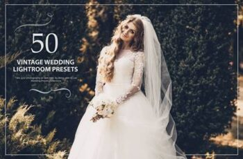 50 Vintage Wedding Lightroom Presets JF58FRQ 6