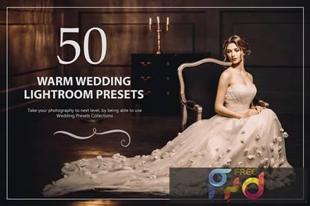 50 Warm Wedding Lightroom Presets SAB3LXE 1